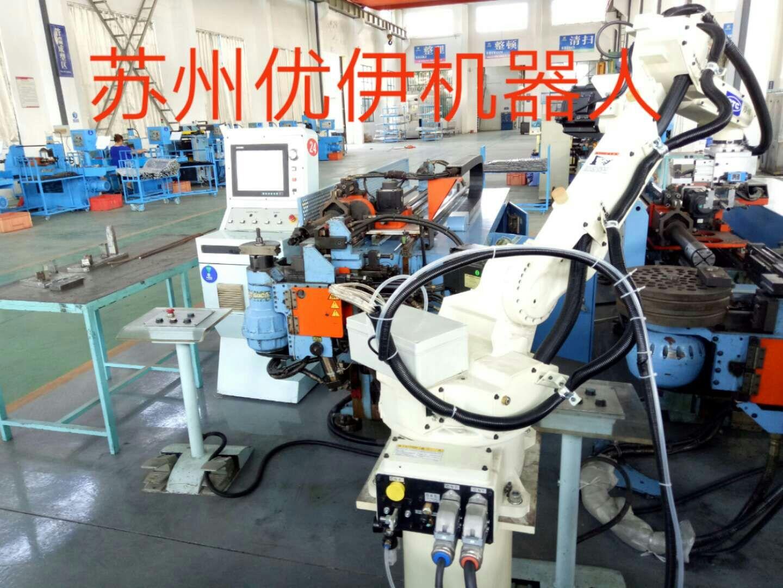 臺灣和和機械彎管機與機器人自動生產線