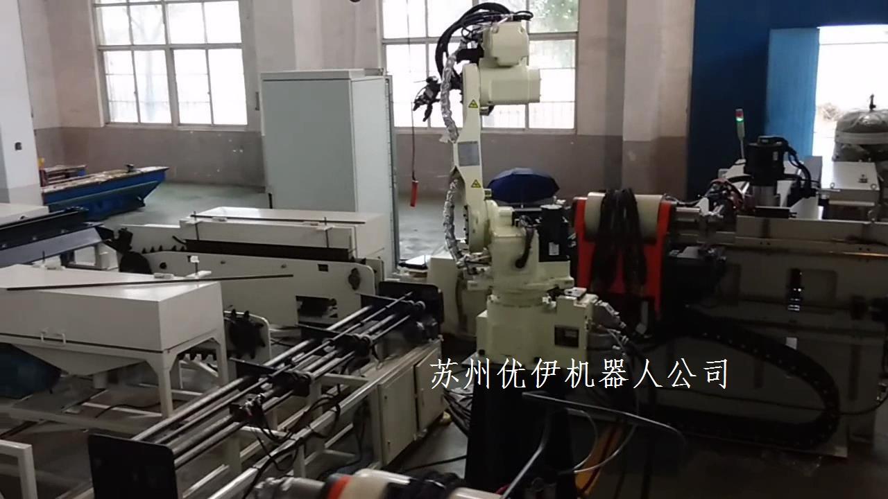 全自動彎管機自動化生產機器人工作站簡介