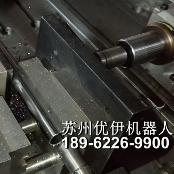 直管自動沖孔鉆孔生產工作站視頻