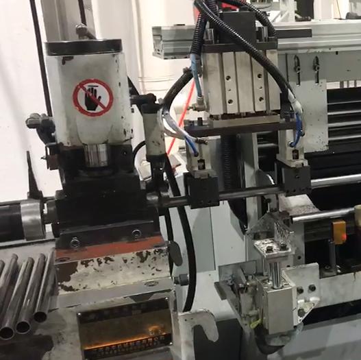 縮管機自動生產工作站視頻