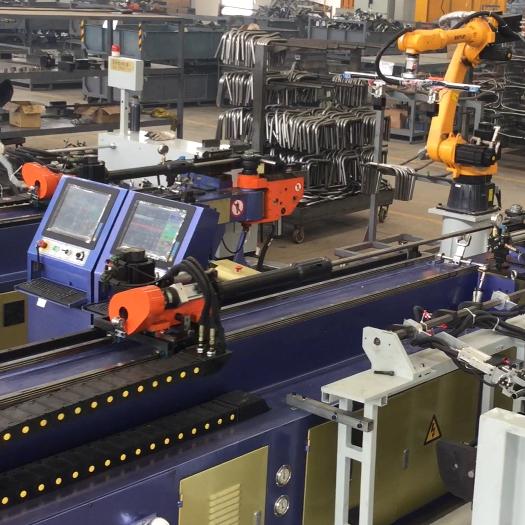 上市公司彎管機自動生產線視頻