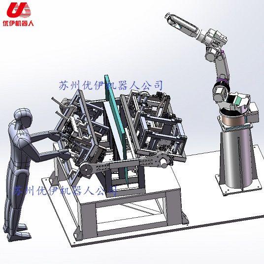 焊接機器人三軸焊接變位機