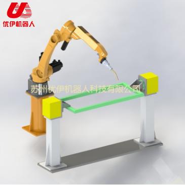 焊接機器人雙座式變位機