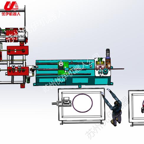 縮管機彎管機推園自動生產線