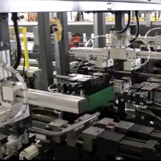 U形管自動雙彎機沖孔生產線