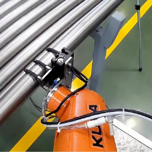 彎管機與機器人自動上下料項目視頻綜合介紹